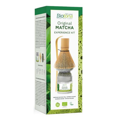 Biotona Original Matcha Experience Kit Grey & Green